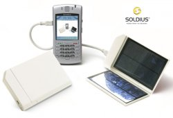 Portable Solar Cell Phone Charger