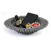 Bicycle Chain Bowl, Recycled