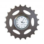 Bicycle Cog Desk Clock, Recycled