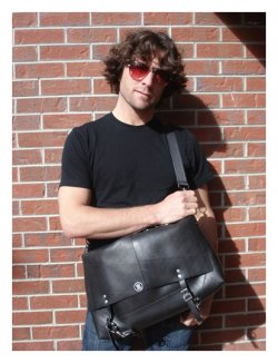 The Bentley Messenger Bag, Eco Friendly