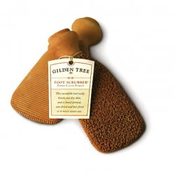 Terra Cotta Two-Sided Foot Scrubber