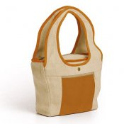Flower Patch Tote, Organic Hemp