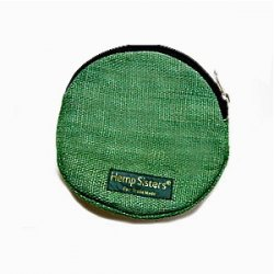 Hemp Coin Purse, Fair Trade