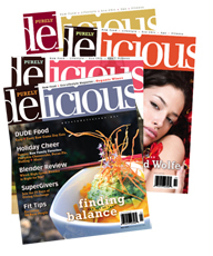 1 Year of Purely Delicious Raw Food Magazine