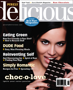 Winter 2010 - Purely Delicious Magazine (Raw Food)
